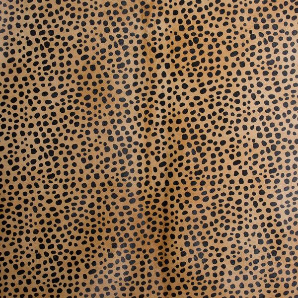 Cheetah Print Cowhide