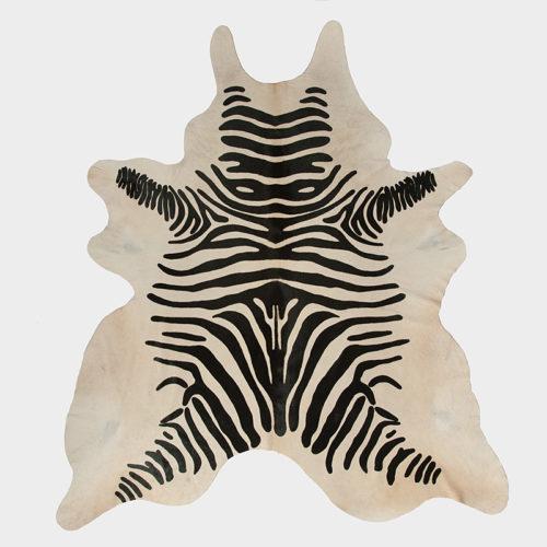 Zebra Print Cowhide