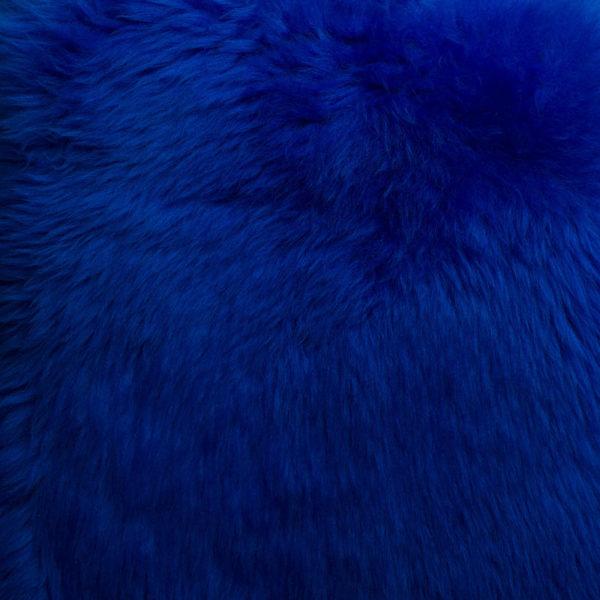 Sheepskin Dyed Blue